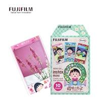 סאקורה מומוקו מצלמה פוג 'י Fujifilm Instax סרט נייר 10 גיליונות תמונה מיני 8 מצלמת סרט מיידית קריקטורה Mini8 7 s 25 50 s 90 Camer
