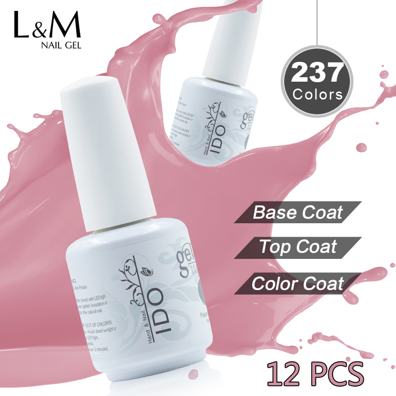 12 ks Free Shipping Nail Gel namočit Led Led Uv Nail Supplies - Manikúra