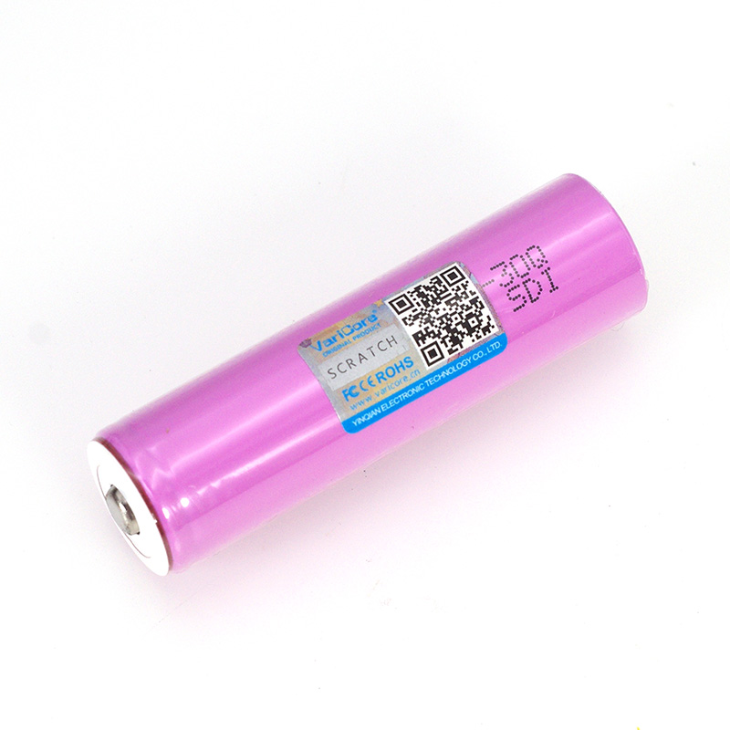Image 2 - VariCore 3.7V 18650 INR18650 30Q 3000mAh li ion Rechargeable battery For Flashlight Batteries + Pointed-in Replacement Batteries from Consumer Electronics