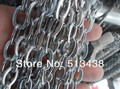 Direto Da fábrica Venda! 50 Metros Em Aço Inoxidável Prata 7mm Elo Da Cadeia Oval. Jewelry Finding Colar DIY Pulseira A Granel