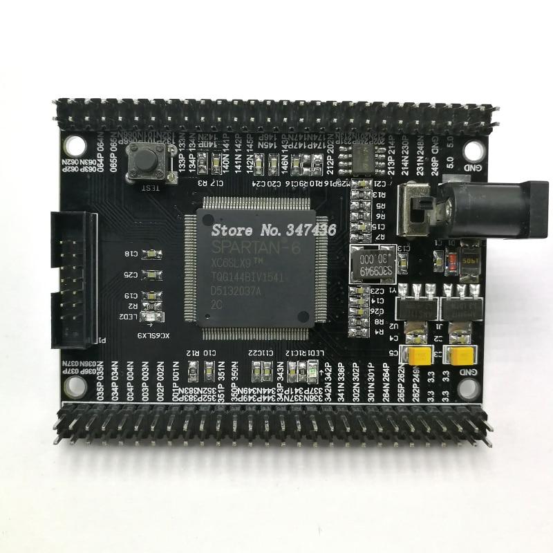 Xilinx FPGA Development Board, Spartan6 XC6SLX9 Development Board, Core Board, Minimum System Board