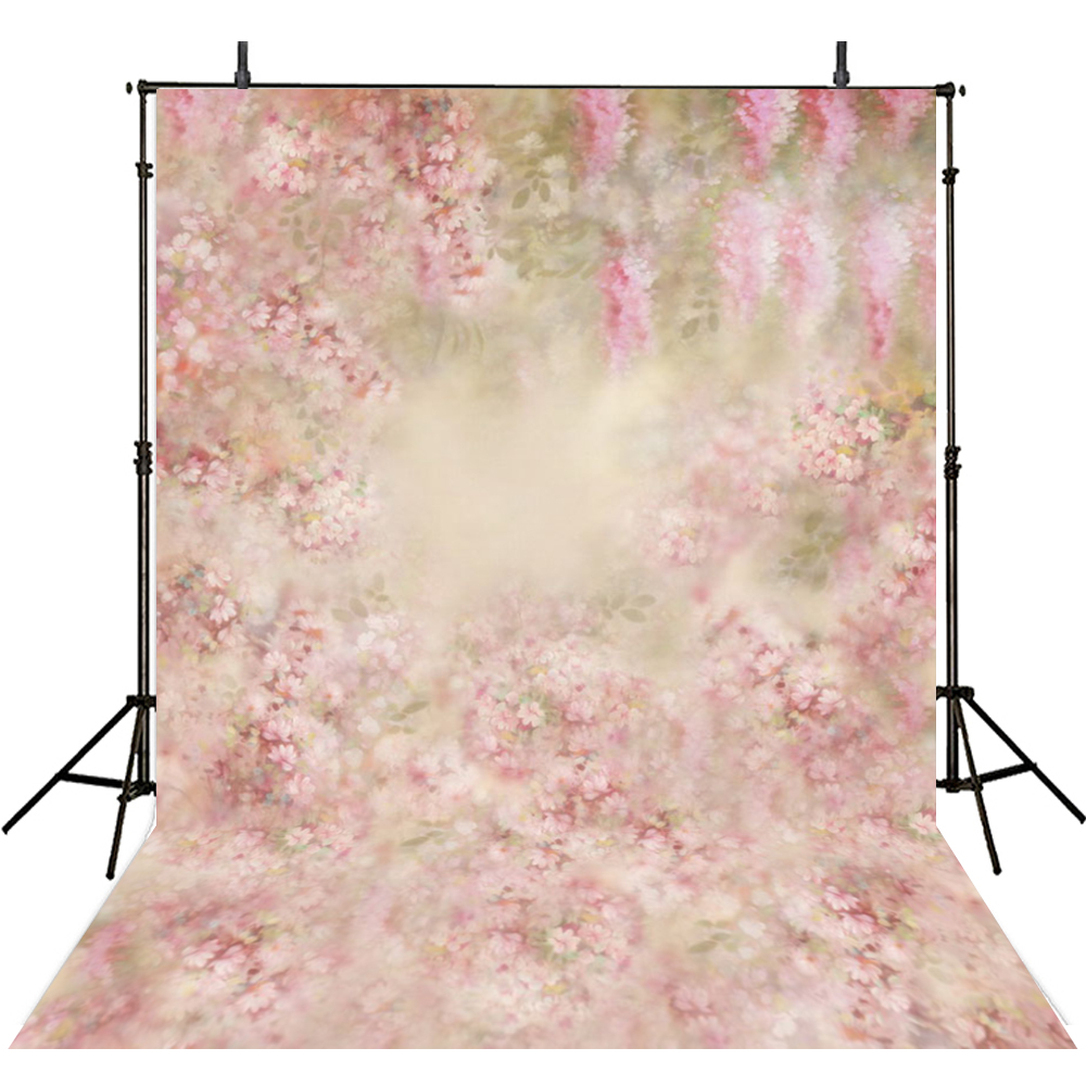 Pink Flowers Photography Backdrops Vinyl Backdrop For Photography Girls Background For Photo Studio Foto Achtergrond retro background christmas photo props photography screen backdrops for children vinyl 7x5ft or 5x3ft christmas033