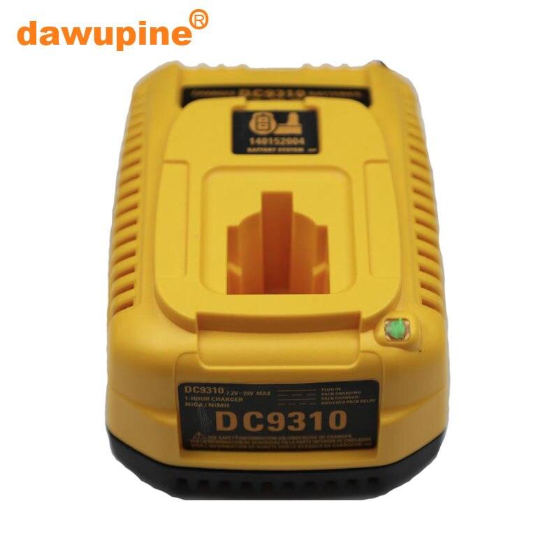 Tool Accessory DE9310 Ni cd Ni hm Battery Charger For Dewalt 7.2V 9.6V 12V 14.4V 18V Series DC9096 Electric Drill Screwdriver