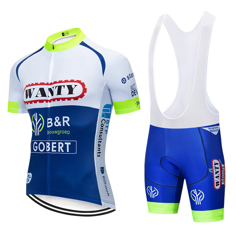 New 2019 WANTY Cycling team jersey 20D bike shorts set Quick Dry Ciclismo clothing men summer pro cycling Maillot bottom wearNew 2019 WANTY Cycling team jersey 20D bike shorts set Quick Dry Ciclismo clothing men summer pro cycling Maillot bottom wear