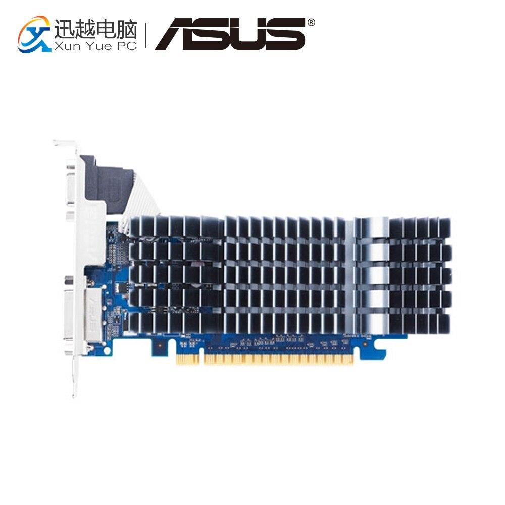 ASUS GT 520 1GB GDDR3 Original Graphics Cards ENGT520 SILENT/DI/1GD3(LP) Video Card VGA DVI HDMI For Nvidia Geforce GT520 цена и фото