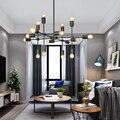 Ветро восстановление древних способов современный и контрактный гостиной столовой личности ламп и фонарей