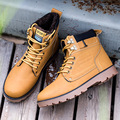 Super Warm Men Winter Martin Boots Men Shoes Outdoor Waterproof Rubber Snow Suede Tooling Boots Leisure Leather Boot Flats Botas
