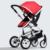 Luxo Puro Jade Branco Bi-direção de carrinhos para crianças Carrinho de Bebê carrinho Hot Mom Poussette Kinderwagen Bebek Arabas