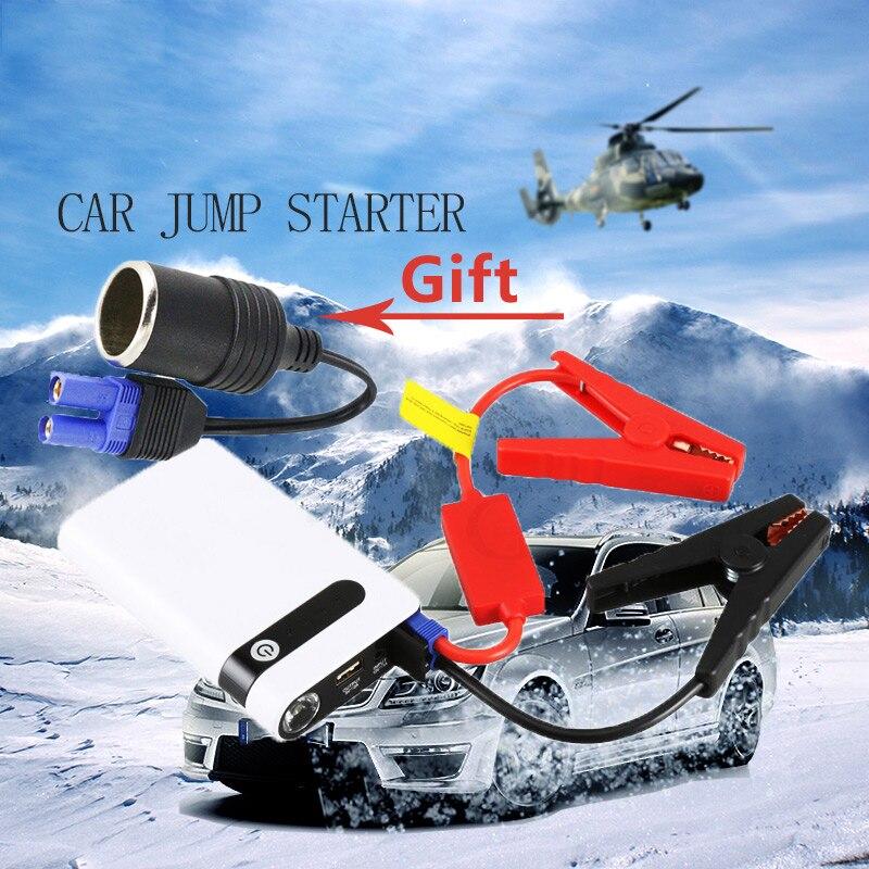 Emergency Mini Car Jump Starter Portable Power Bank 12V Starting Device Car Battery Charger for Booster Buster Led Light