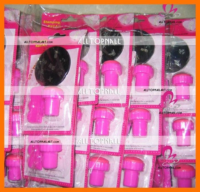 Free shipping A_Grade nail systems stamping Nail Art Stamping Set ...