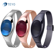 Teyo Снарт Браслет Z18 Bluetooth Артериального Давления Сердечного ритма Сна Монитор Удаленной Камеры Водонепроницаемый Запястье Для Android IOS