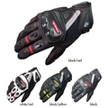 2016 New KOMINE GK-160 motorcycle racing gloves motorbike riding glove of leather/carbon fiber DROP touch Phone free shipping