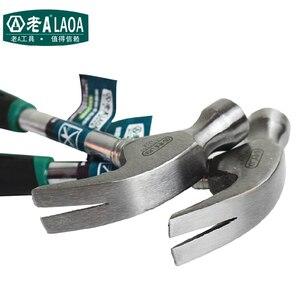 Image 3 - LAOA 8OZ çelik boru pençe çekiç ahşap profesyonel aracı ev geliştirme araçları
