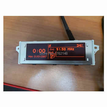 Original-factory Screen support USB and Bluetooth Display red monitor genuine for Peugeot 307 207 408 citroen C4 C5