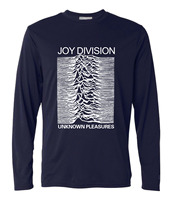Funny Joy Division Unknown Pleasure Long Sleeve T Shirt Men Rock And Roll Tops Tees 2016