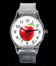 Apple Fruit / Lemon Orange / Sun Flower Sunflower / Watermelon / Strawberry Kids Children Student Gift Cartoon Sport Wrist Watch