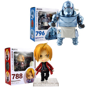 Fullmetal Alchemist Edward Elric 788 Alphonse Elric 796 Action Figure Anime Doll PVC New Collection figures toys(China)