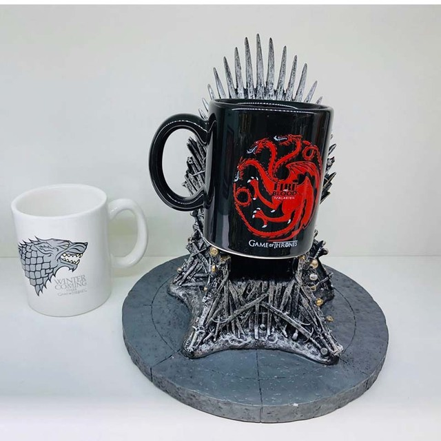 "Ceramic Cups ""Fire and Blood"" 3"