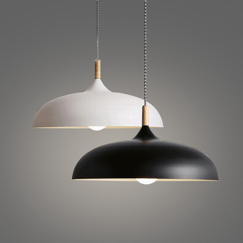 Modern Simple designer Northern Lighting Acorn Pendant Lamps with Edison Bulb for Dining Room bar restaurant