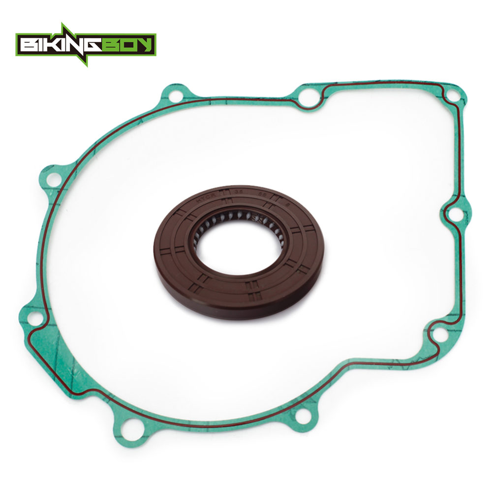 BIKINGBOY ATV Wet Cluch Gasket & Oil Seal for YFM 660 Grizzly YXR660 RHINO 04-07 <font><b>HiSUN</b></font> Massimo Menards Supermach <font><b>UTV</b></font> MSU <font><b>500</b></font> 700 image