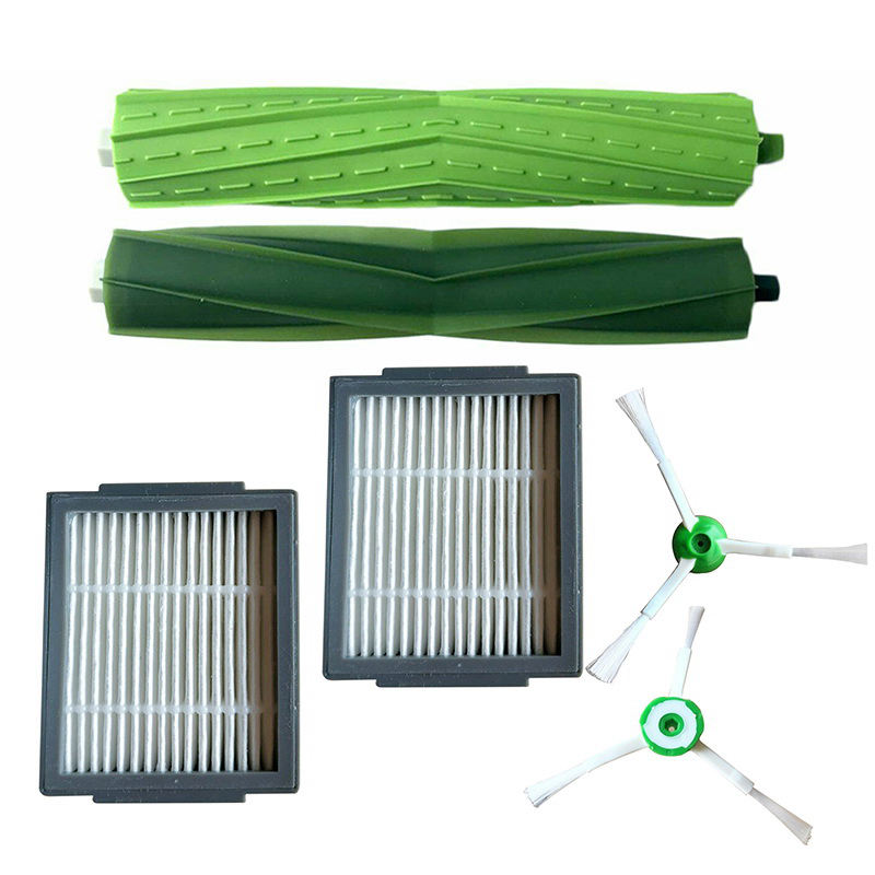 Main/Side Brushes Filter Accessories For Roomba I Series I7 E5 E6