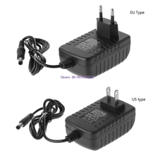 Eu/Us Plug 12.6V 2A 18650 Lithium Battery Charger Dc 5.5 Mm X 2.1 Mm Draagbare Oplader