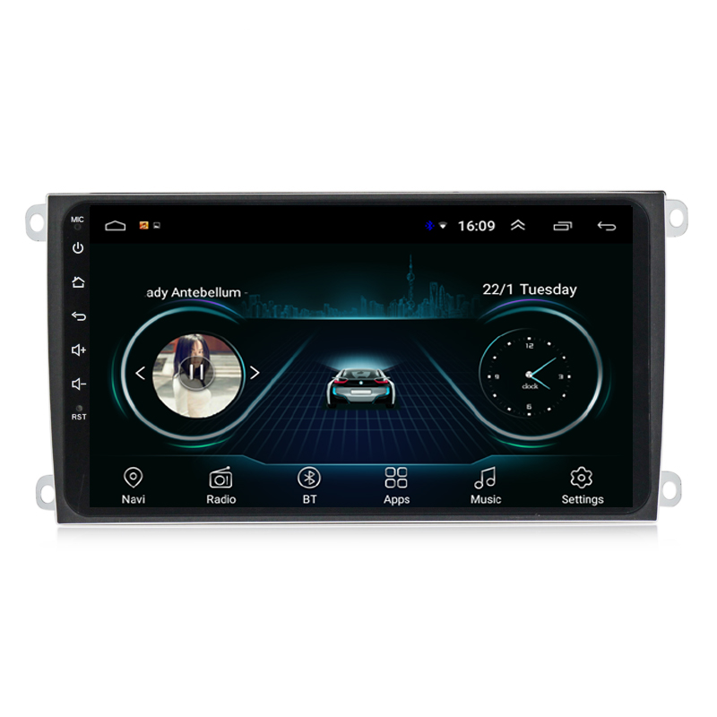 Car radio GPS With 1080P Video Play * Compatible Play MP3, MP4, WMA, ,JEPG, GIF for Porsche Cayenne 2003-2010 8inch Android 8.1