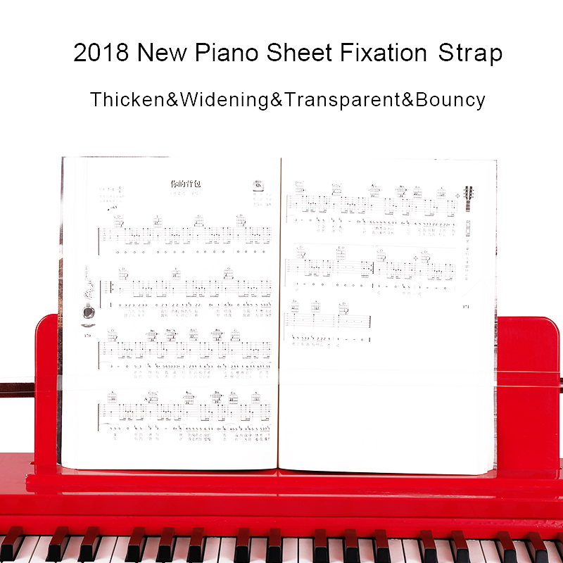 Detail Feedback Questions About Piano Sheet Fixation Strap Pressure