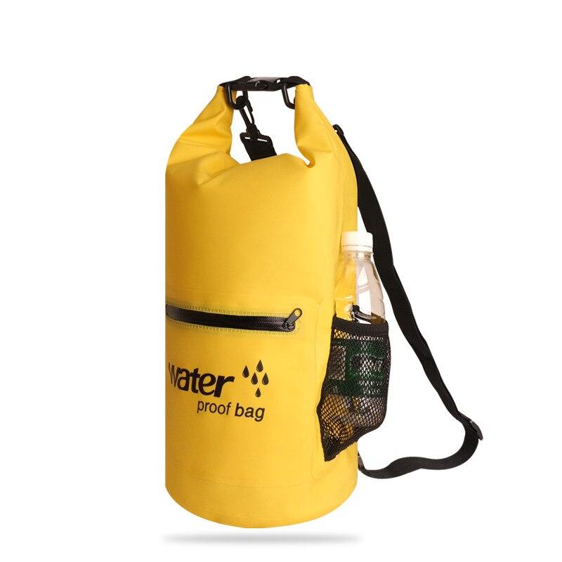 20L Outdoor Waterproof Swimming Bag Outdoor Nylon Travel Storage Multi-Functional Kayak Drifting Sports Bag Six Colors