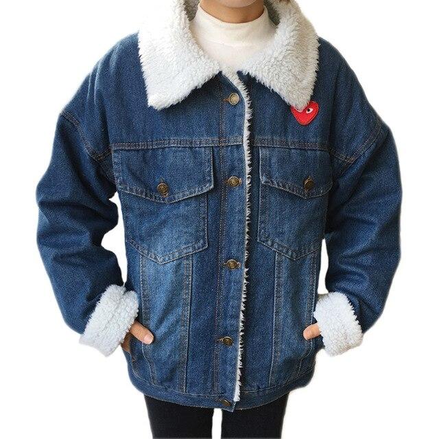 jeans jas wol