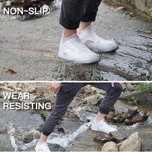 Многоразовые водонепроницаемые бахилы обувь унисекс силиконовые протекторы мужская женская обувь Сапоги Галоши защита от дождя