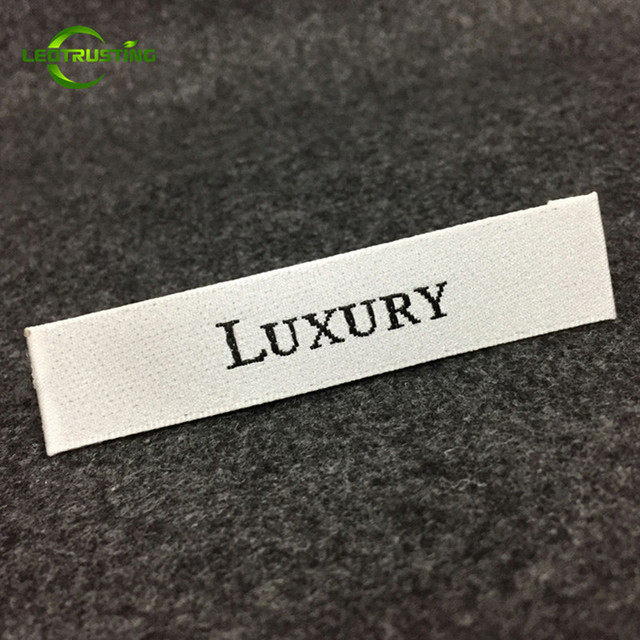 11fb2fe13570 US $42.0 |1000pcs Custom Logo Brand Woven Clothing Labels with Cut and  Folded Customized Wedding Dress/Hat/Shoes Embroidered Labels -in Garment  Labels ...