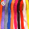 new hot sale 5yd/lot 10mm width colorful small PP ball lace ribbon tassel trim sewing material accessories for home decoration