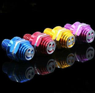Motorcycle refires pieces electric bicycle card holder screw license plate screw motorcycle smiley screws 8mm