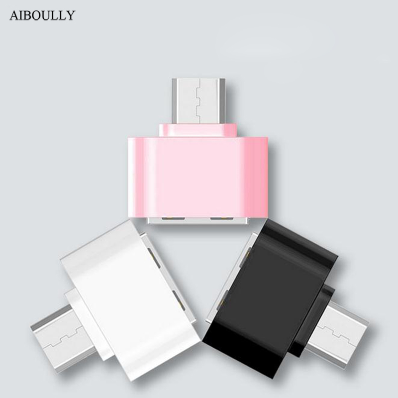 AIBOULLY Micro to USB adapter otg Converter Charger&Sync s