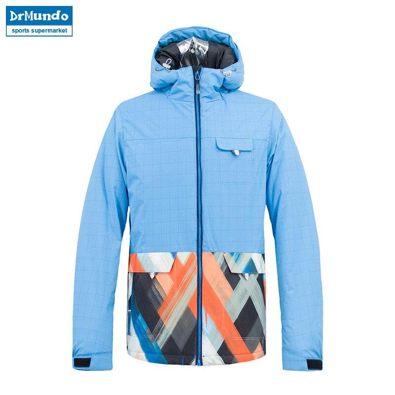 2018 nouvelle marque veste de Ski hommes imperméable chaud hiver neige vestes coupe-vent en plein air Sportwear Ski manteau snowboard vêtements