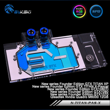 Bykski N-TITAN-PAS-X Full Cover Graphics Card Water Cooling Block for NewFounder GTX TitanXP/X-Pascal,GTX1080Ti/1080/1070,M6000