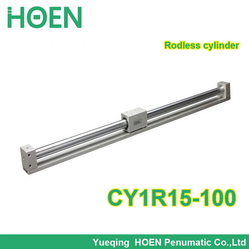 CY1R15-100 SMC type Rodless cylinder 15mm bore 100mm stroke high pressure cylinder CY1R CY3R series CY1R15*100 air cylinder for free post quality eco friendly smc series air combination units smc ac4010 type 15 years only do the welding machine helmet
