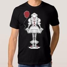 T Shirt Summer Cotton Comfort Soft O-Neck Short Sleeve Stephen King For Men