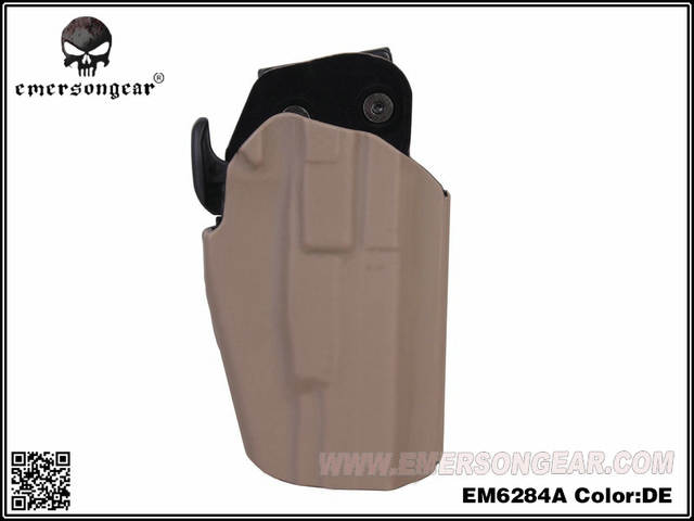 EmersonGear RightHand 579 Gls Pro-Fit Holster WALTHER PPQ M2 9/40 Can Fit  100 More Gun Type Dark Earth EM6284A