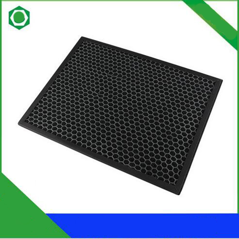 40*25*1cm Activated Carbon Filter for Sharp KC-BB30-W KC-WB3-W KC-BD30-S KC-W280SW/R KC-Z280SW KC-C100SC/W Air Purifier washable activated carbon formaldehyde filter fz c100dfs for sharp kc z280sw kc w280sw ki dx70 air purifier