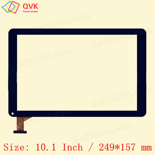 10.1 Inch for Sunstech TAB109QC Capacitive touch screen panel repair replacement spare parts free shipping