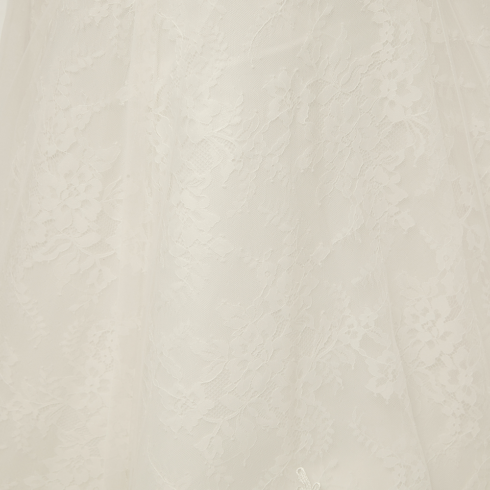 Image 5 - Fansmile Vestido De Noiva Customized Plus Size Lace Mermaid Wedding Dress 2019 Real Photo Vintage Bridal Wedding Gowns FSM 112M-in Wedding Dresses from Weddings & Events