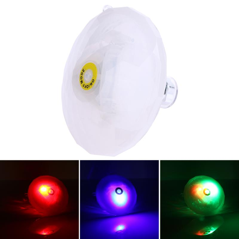 Waterproof LED Underwater Light Colorful Swimming Pool Party Bar Decoration Lamp 7 Colors Change Under Water Lighting