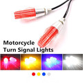 2x Universal Motorcycle Lightings Motorcycle Turn Signal Lights 4 Colors Motorbike Decoration Lamp Direction Indicator Lights