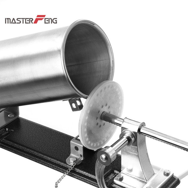 6 lbs / 3kg Stainless Steel Sausage Filling Machine 5