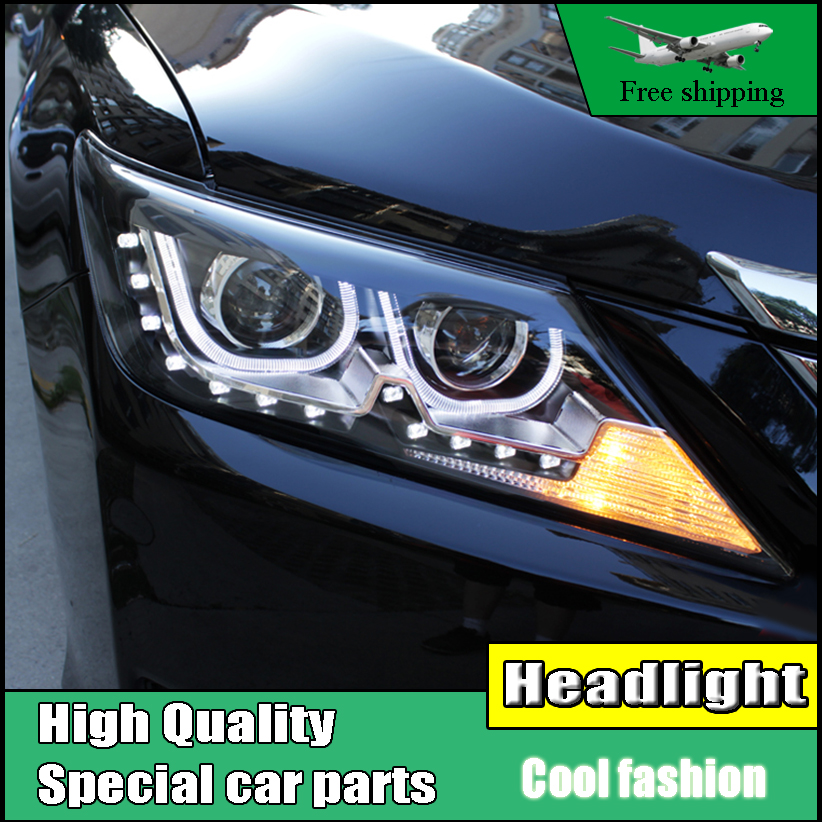 Car Styling Head Lamp Case For Toyota Camry V50 Headlights 2012-2014 LED Headlight DRL H7 HID Xenon Low Beam летняя шина nokian hakka black suv 275 40 r21 107y
