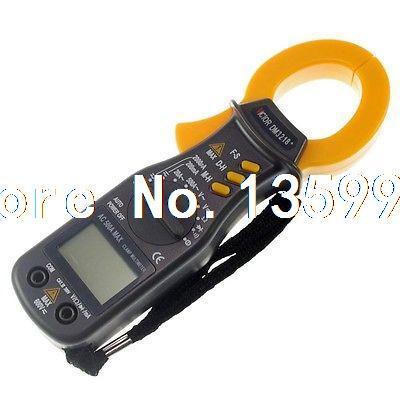 цена на Battery Powered Volt Amp Ohm Meter Digital Clamp Multimeter DM3218+