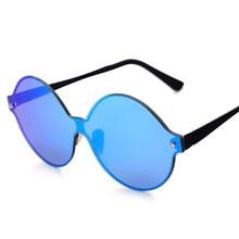 Gafas De Sol luneta sin montura De Color Gafas De Sol polarizadas mujeres hombres diseñador De la marca Eyewears aire libre Gafas De Sol Oculos Polarizados