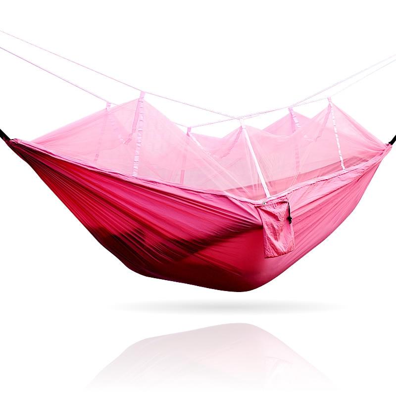 Portable camping hammock mesh hammock